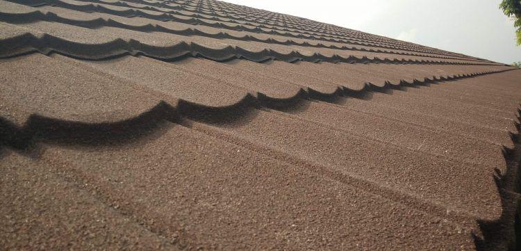 Genteng Metal pasir